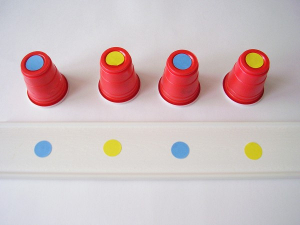 Patterning math activity for preschoolers