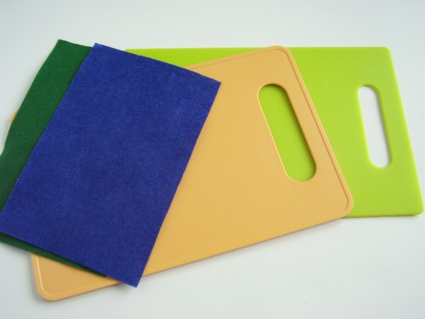 Mini felt board for kids activities