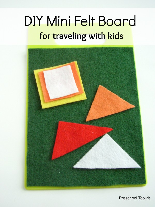 Travel size felt board