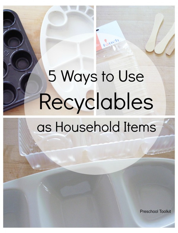 How to reuse household items to reduce waste