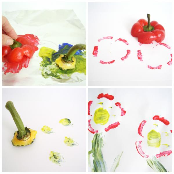 Painting activity for kids