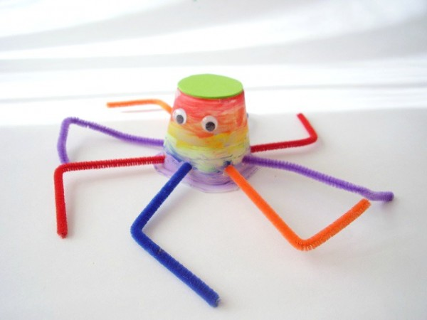 Octopus craft kids painting activity