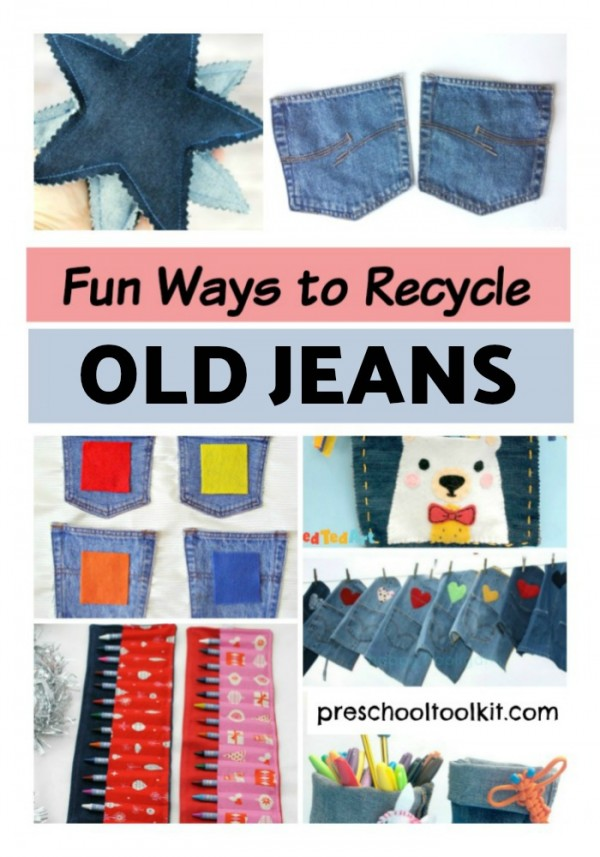 Fun ways to recycle old jeans
