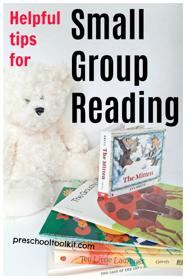 Helpful tips for small group reading