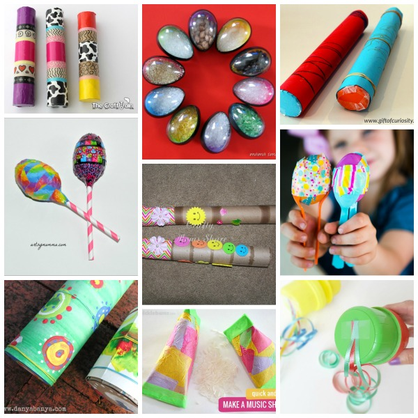 Homemade shakers for kids activities