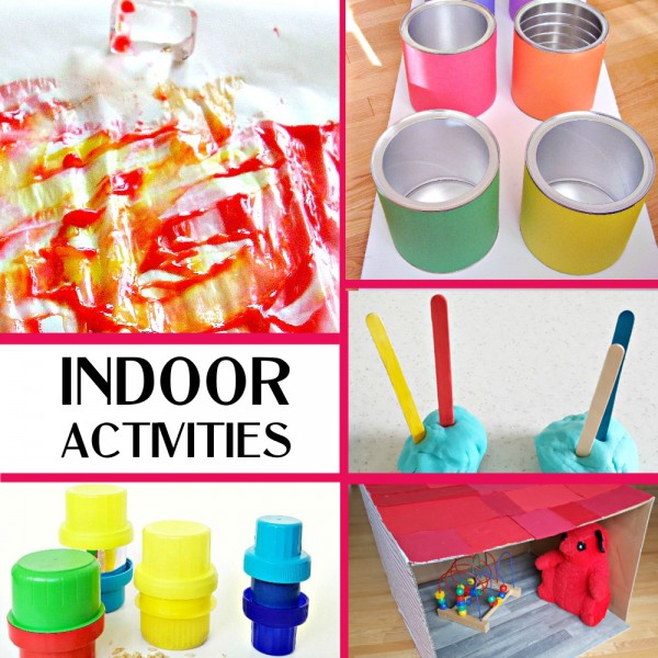 Indoor play when kids must stay at home