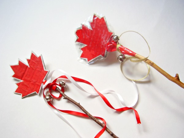 Noisemakers kids can make with bells and twigs