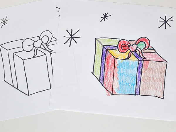 Download and print holiday coloring sheets for preschoolers