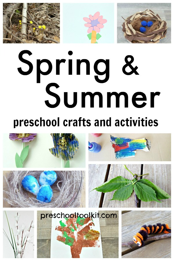 Spring and summer seasons crafts and activities for kids