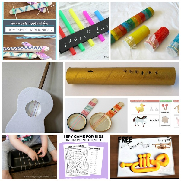 String wind and printable music activities