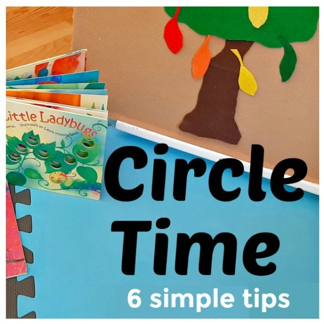 6 simple tips for planning circle time