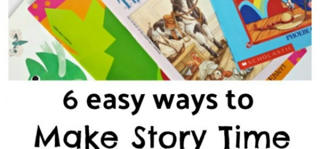 6 ways to make story time amazing without opening a book
