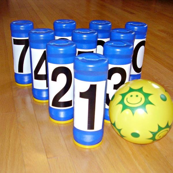 Diy Indoor Bowling Game Counting Activity 187 Preschool Toolkit