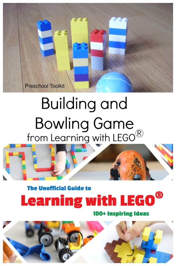 Bowling with blocks game from ebook resource