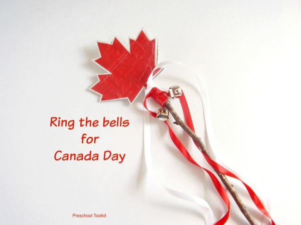 Canada Day maple leaf noisemaker