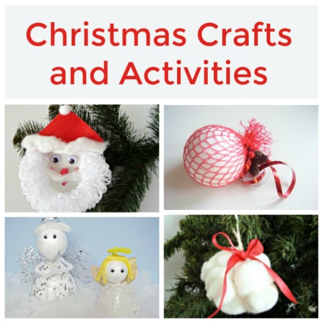 Christmas crafts and activities for kids