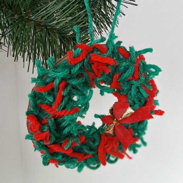 Christmas ornament kids craft