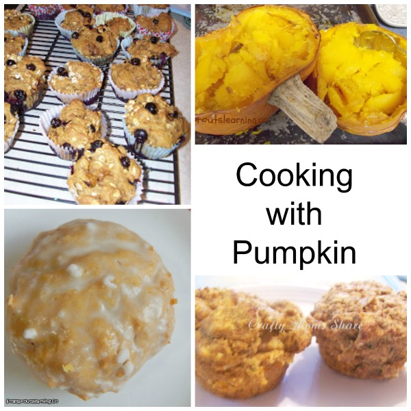 Cooking with pumpkin fall activities