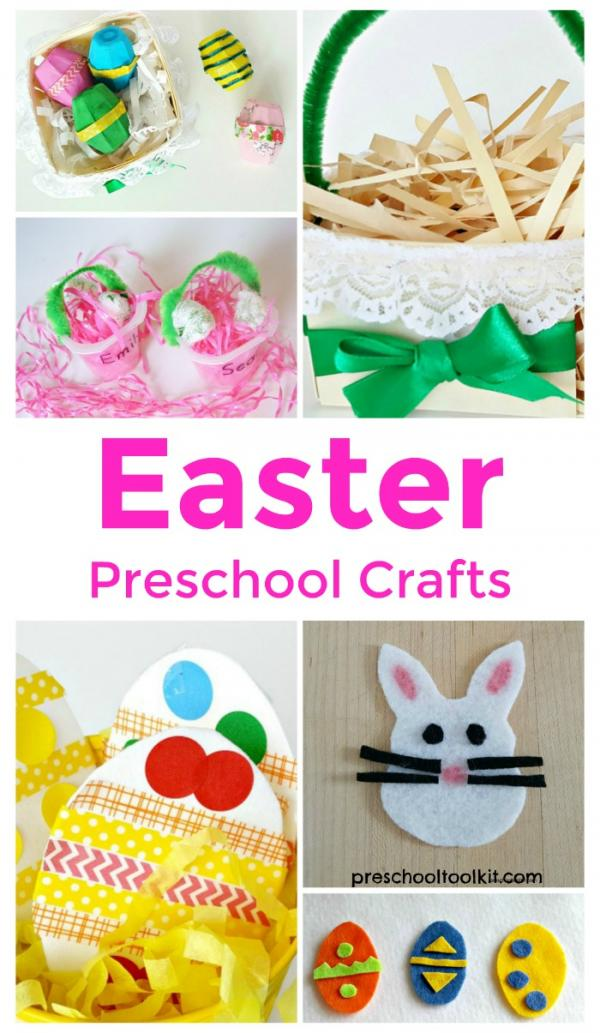 Easter crafts for preschool and kindergarten