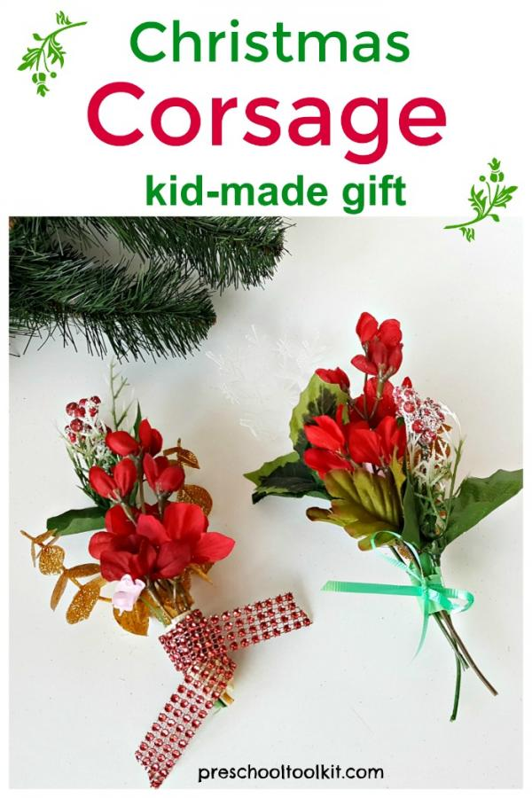 Flowers craft for kids to make for gift giving