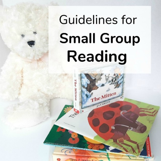 Guidelines for small group reading