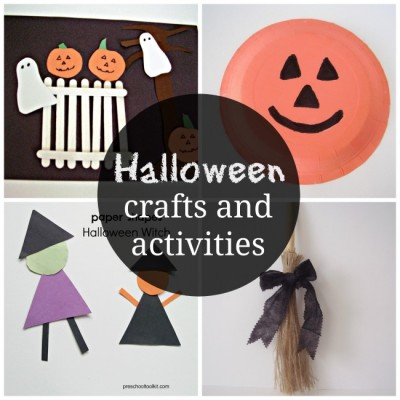 Kids activities with a Halloween theme