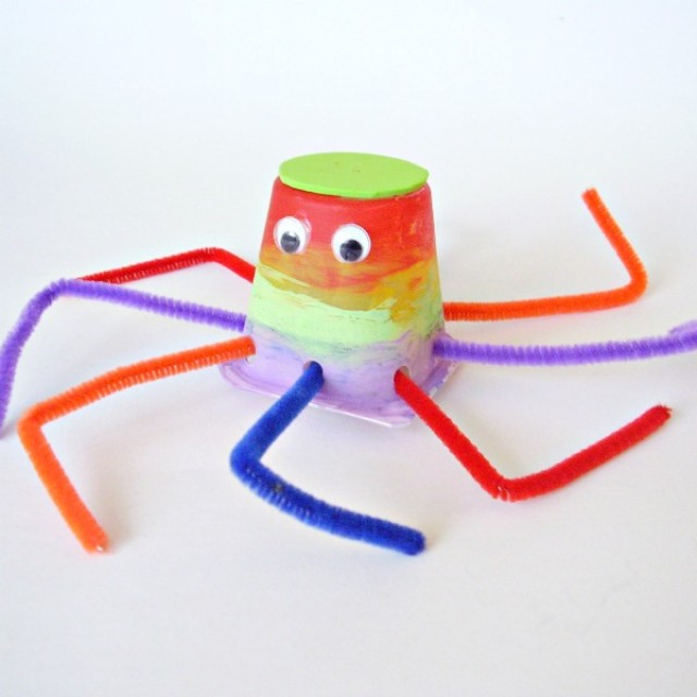 Octopus preschool craft fine motor and creative play