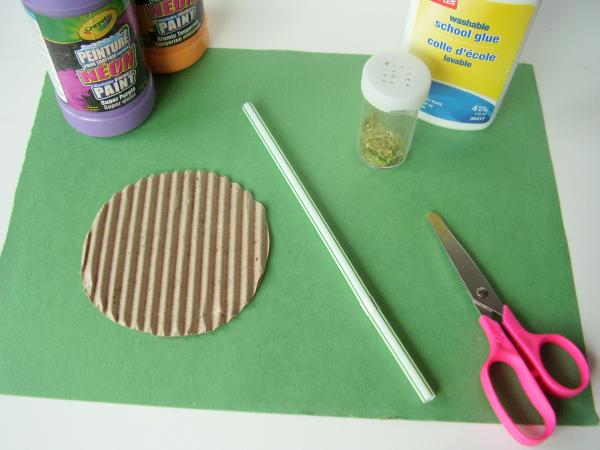 Supplies for flower craft