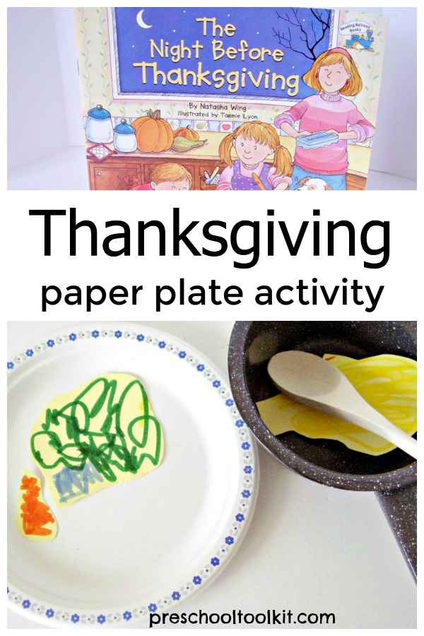 Thanksgiving Craft For Kids Using A Paper Plate Preschool