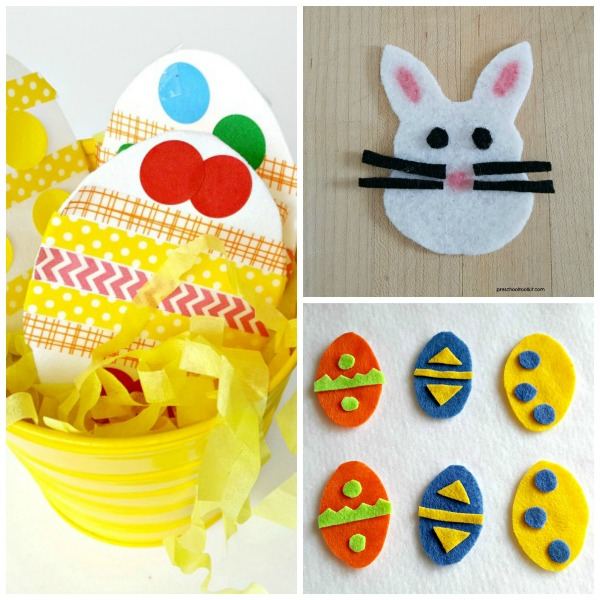 Preschool Easter crafts and activities