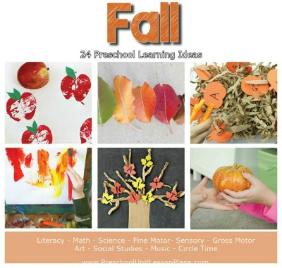Preschool Lesson Plans Fall Unit