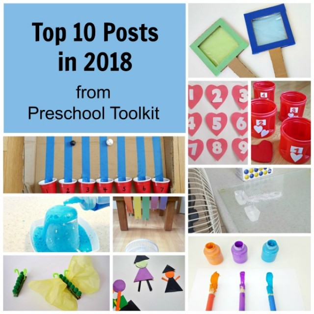 Preschool Toolkit top posts for 2018