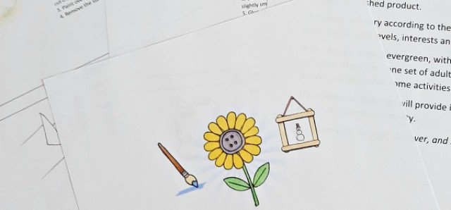 Preschool crafts resource pdf download for teachers and parents