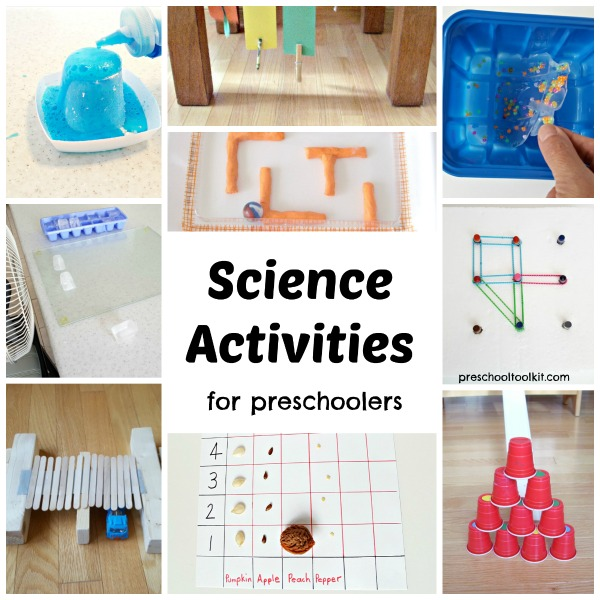 Preschool science fun and easy with hands on activities