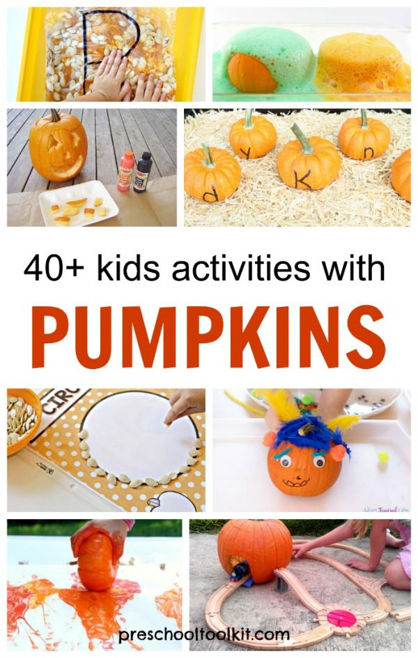 Pumpkin activities to do with kids of all ages