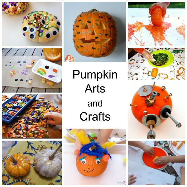 Pumpkin arts and crafts activities for kids