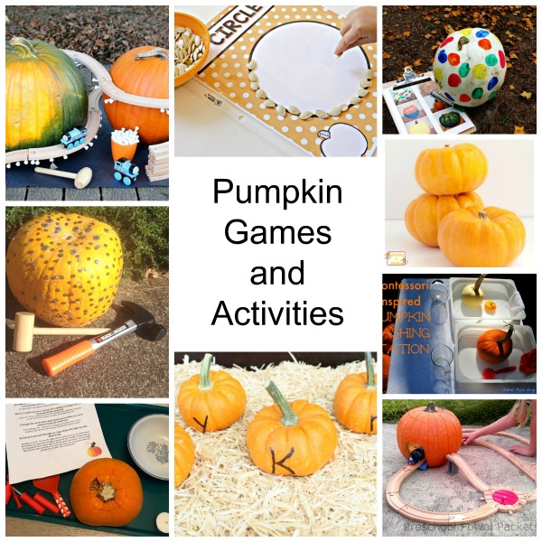 Pumpkin games and activities