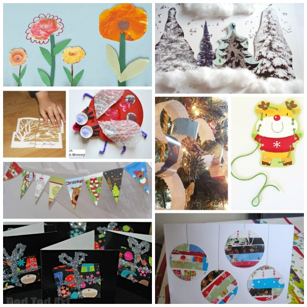 Fun Ways To Recycle Greeting Cards Preschool Toolkit