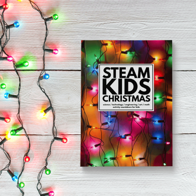 STEAM Kids Christmas Book of kids activities