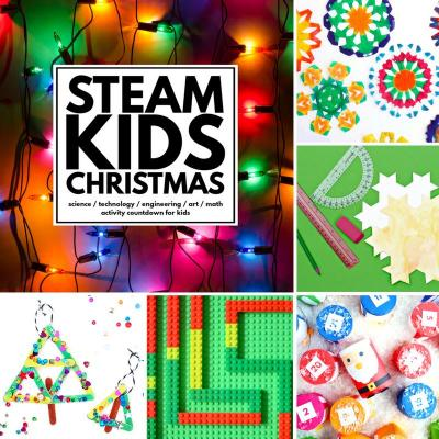 STEAM Kids Christmas ebook resource