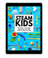 STEAM Kids ebook science and art activities