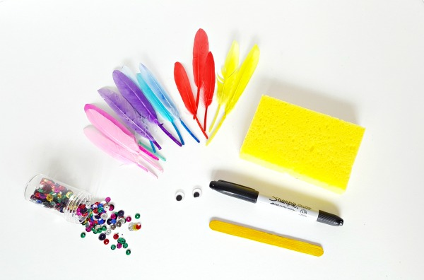 Sponge fish craft supplies