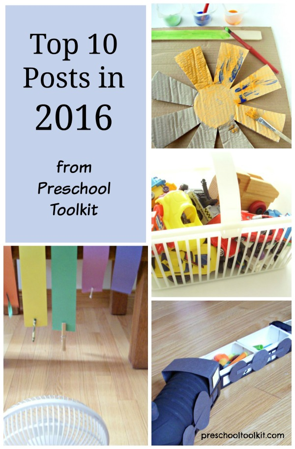 Top 10 posts 2016 Preschool Toolkit