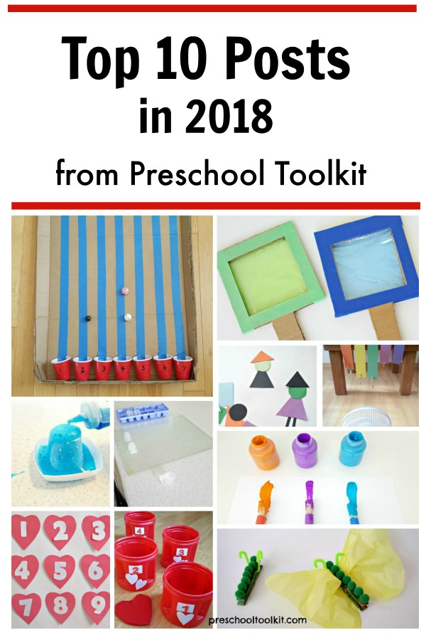 Top posts for the year 2018 from Preschool Toolkit Blog