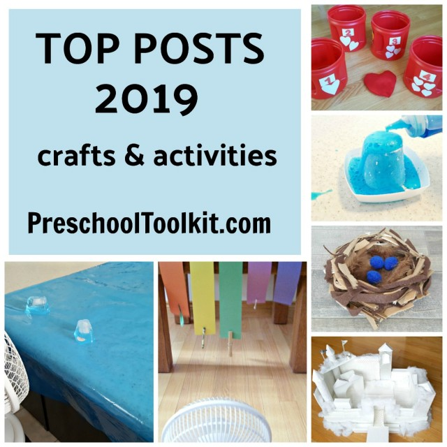 Top posts on Preschool Toolkit blog for 2019