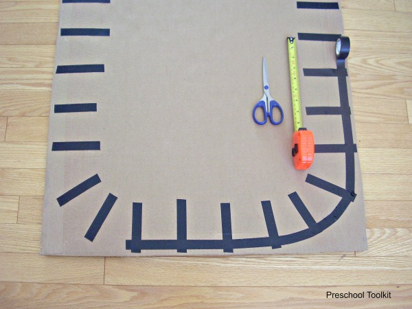 Train tracks craft