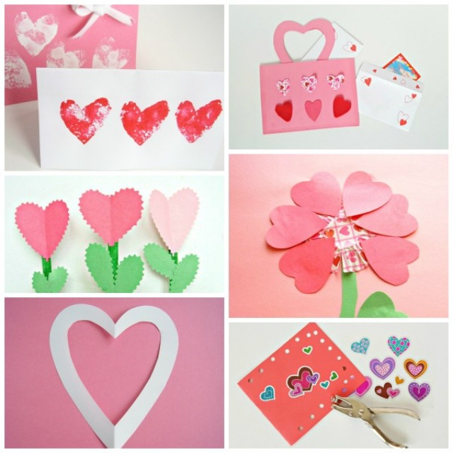 Valentine crafts and activities for preschoolers