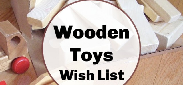 Wooden toys to make or buy for preschoolers