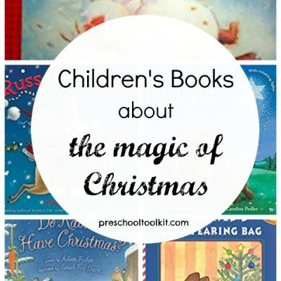 Children's books about the magic of Christmas