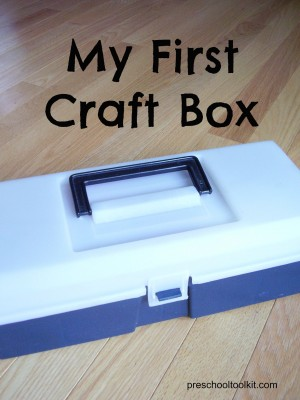 Kids own craft box